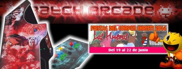 Evento Retro Máquinas Arcade en Los Hueros