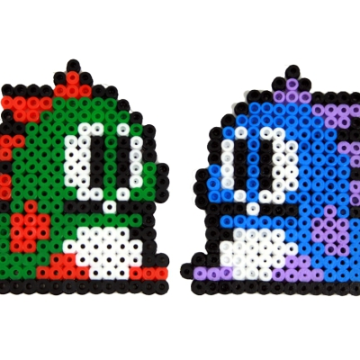 Hama Beads Bubble Bobble