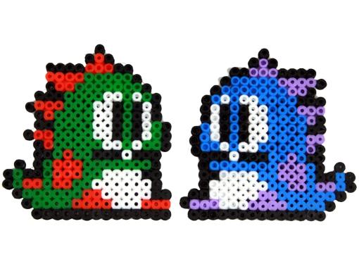 Hama Beads Bubble Bobble