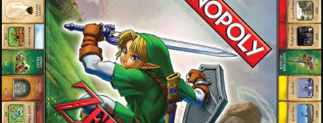 Un Monopoly con la licencia «The Legend of Zelda»