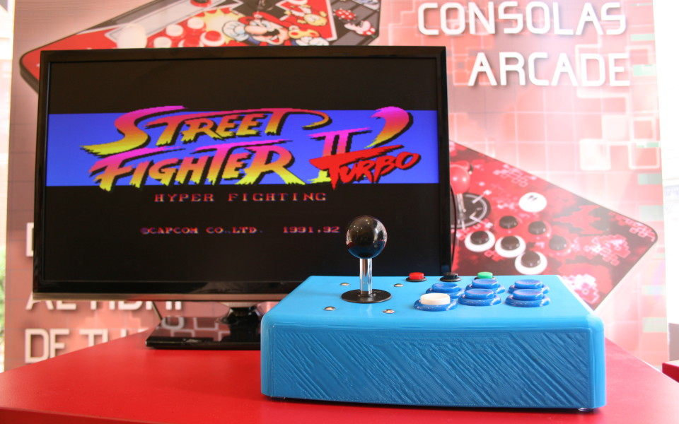 "Consola Arcade Retro ""3D"" 1 Jugador"
