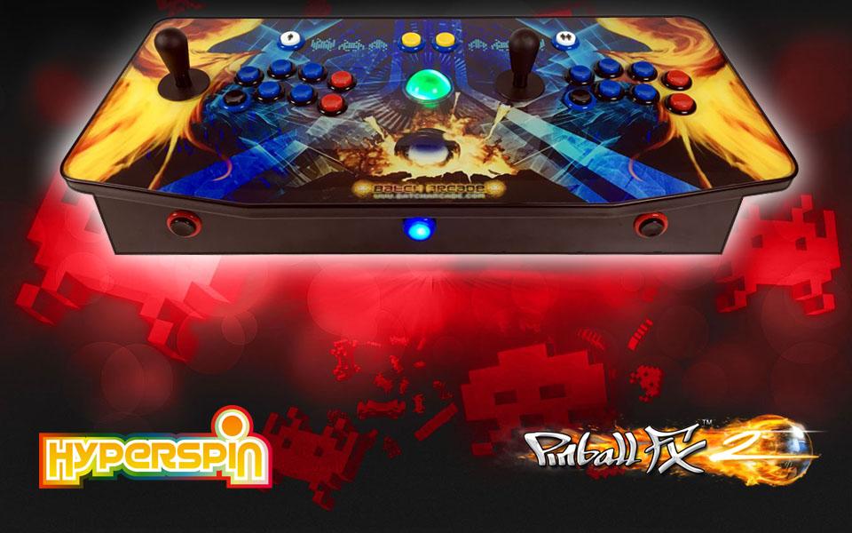 Consola Arcade V4.0 Hyperspin & Pinball FX2