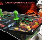 """Consola  Arcade v2.5  Raspi3+ HDMI  2 Jugadores modelo """"GHOST GOBLINS"""""""