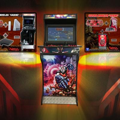 Arcade-Bartop-Modular-Mazinger