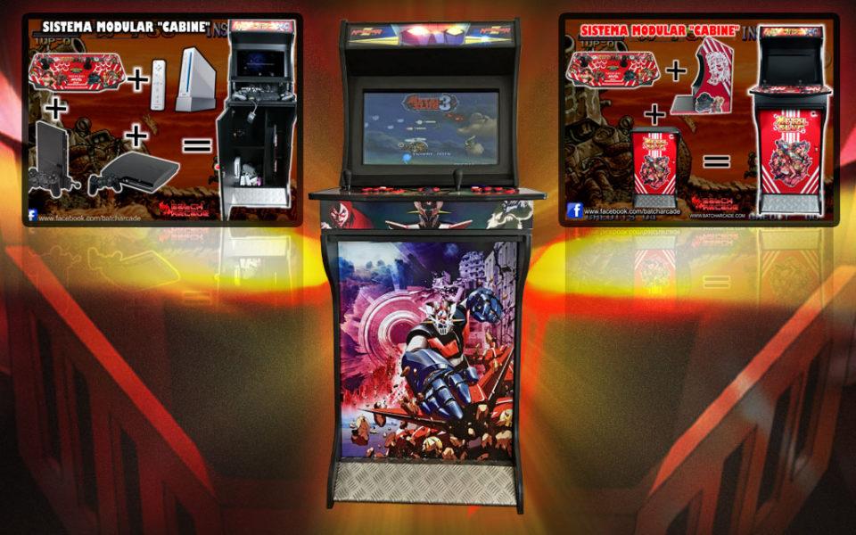Máquina Arcade V4.0 Modular Cabinet 24″