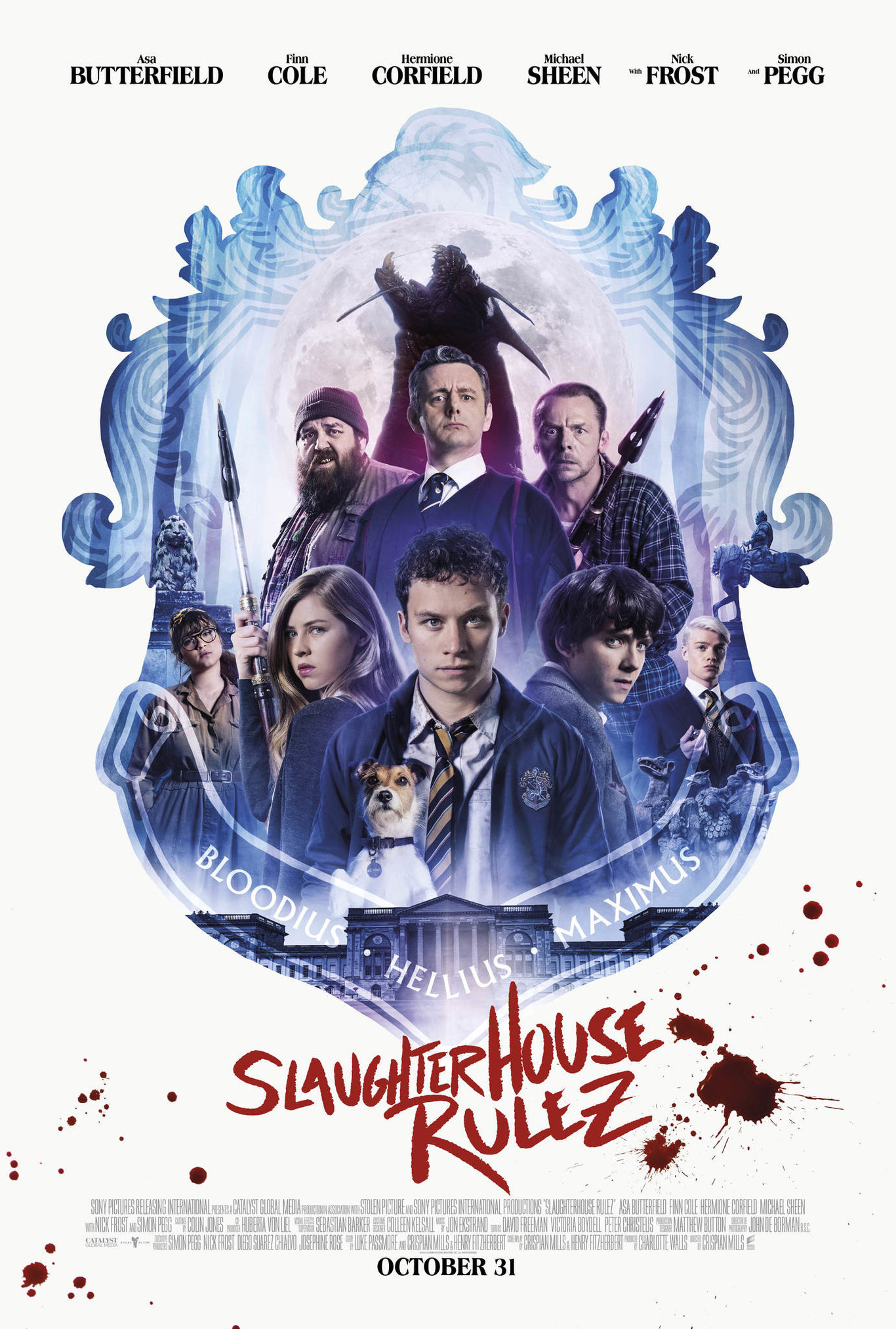 El cartel de Slaughterhouse Rulez