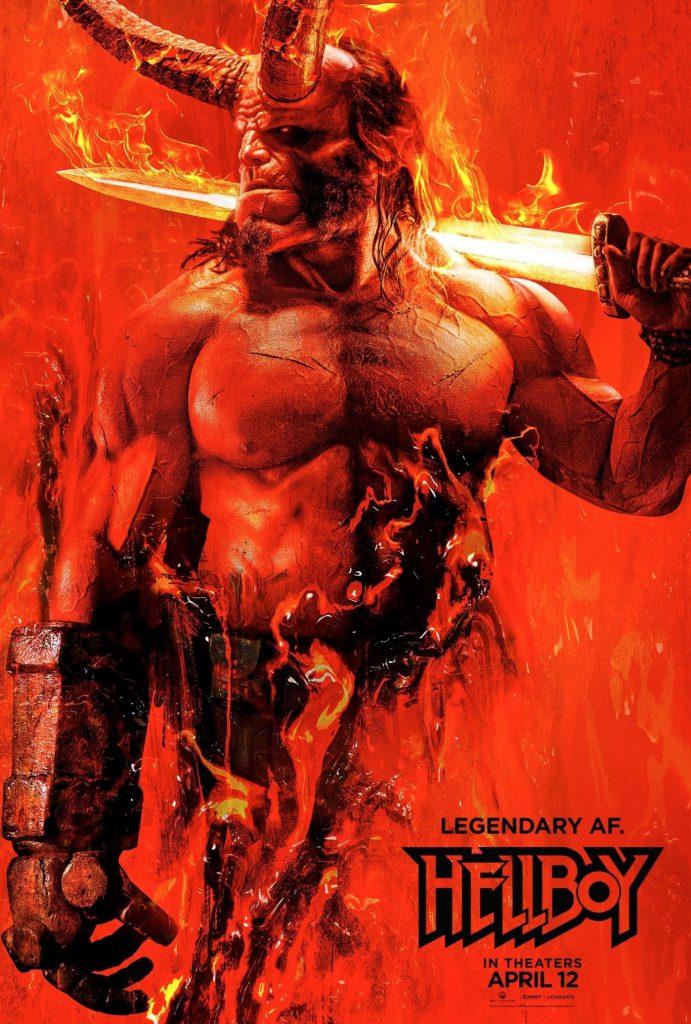 El reboot de 'Hellboy' presenta su nuevo póster como aperitivo
