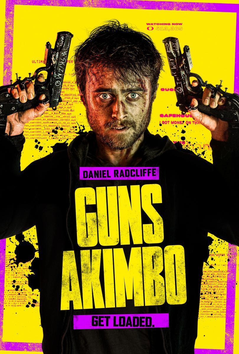 Guns Akimbo Lo nuevo del director de «Deathgasm», llegará el lunes 23 de Marzo a Amazon Prime Video